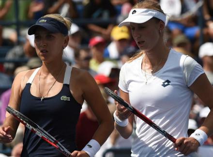 Теннис: пары Веснина-Макарова иКасаткина-Кузнецова— вовтором раунде