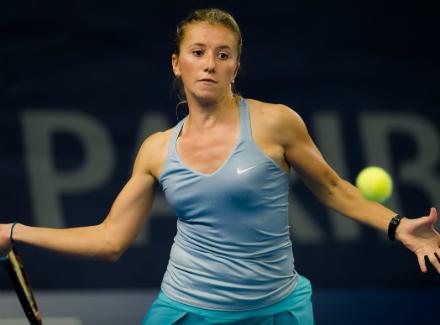 Саснович вышла в ¼ финала турнира вБудапеште