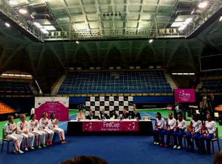 Русская теннисистка Макарова выиграла матч Кубка Федерации