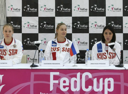 Блинкова заявлена надва матча Кубка Федерации против Тайваня