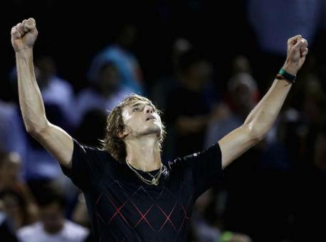 Теннис: Вфинале турнира вМайами сыграют Изнер иЗверев