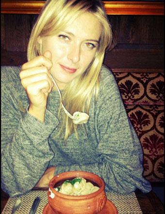 shara2.jpg Мария Шарапова: Домашние пельмени   моё любимое блюдо, когда я нахожусь в России