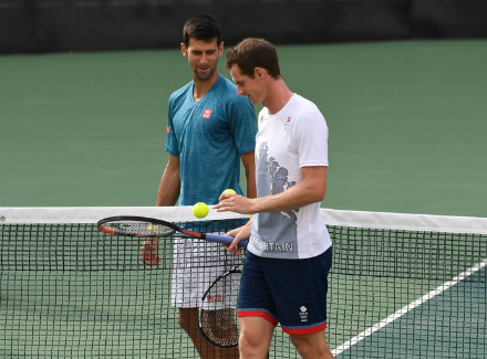 Новак Джокович проиграл впервом раунде олимпийского теннисного турнира