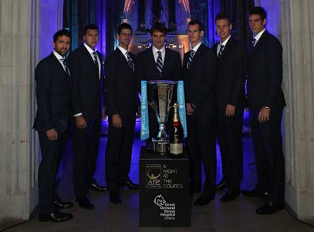 atp world tour finals previews 20121103 132914 267.jpg Участники Итогового чемпионата АТР посетили торжественный гала вечер в Лондоне