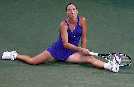 стрелочный термометр схема.  Финалистка US Open-2008, экс-первая ракетка мира сербка Елена Янкович, в последнее время...