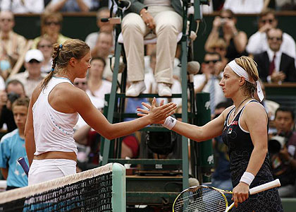 French Open-2009. Матч дня - Сафина vs. Кузнецова